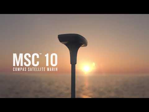 Garmin présente le compas satellite marin Garmin MSC™ 10