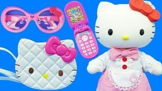 Hello Kitty、凱蒂貓的手提袋兒童玩具