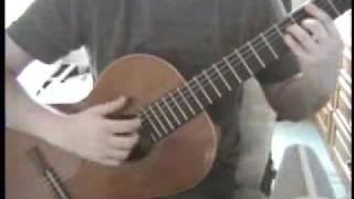 Gheorghe Zamfir -- The Lonely Shepherd on Classical Guitar