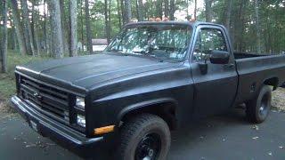 Truck Update : September 2015 (1986 Chevy K20 V8 350 Small Block)