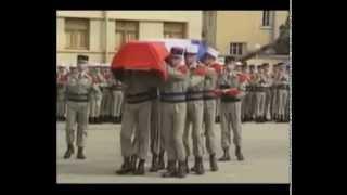 J'avais un camarade   Chant  Legion Etrangere 6REG
