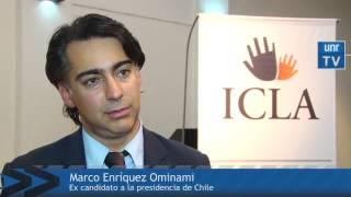 """Marco en Argentina: """"Voy a pelear para que en Chile haya un proceso constituyente"""""""