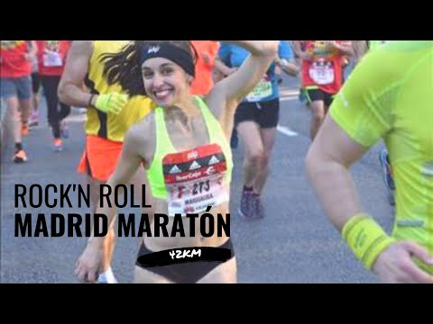 rock n roll madrid marathon 1 2