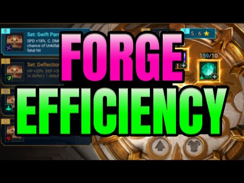 How to Approach the New Forge System I Raid Shadow Legends