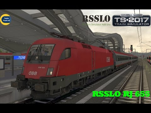 RSSLO RJ 655 | ÖBB 1016 | Train Simulator 2017