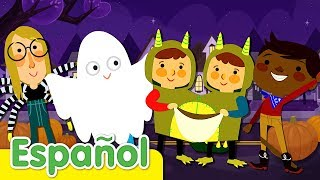 Adios, Amigos | Canciones Infantiles de Halloween | Super Simple Español