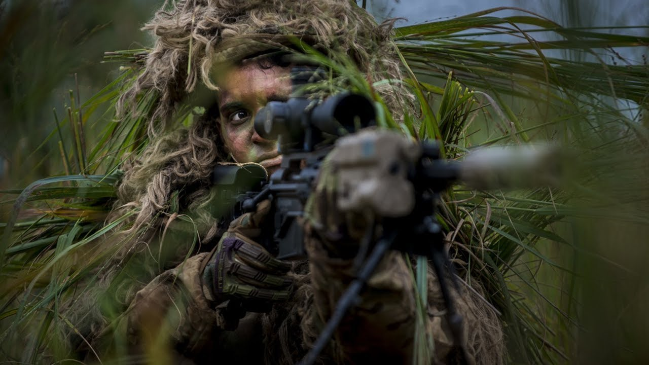 U.S. Army Infantrymen • Combat Operations with Sniper Support