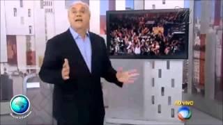 Marcelo Rezende diz meu time é o Cruzeiro e manda tirar as frangas do ar