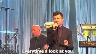 Rick Astley    It Would Take A Strong Man Live