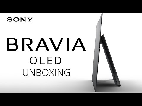 Sony BRAVIA OLED A1 TV Unboxing