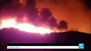 France: Blaze forces evacuation of at least 10.000