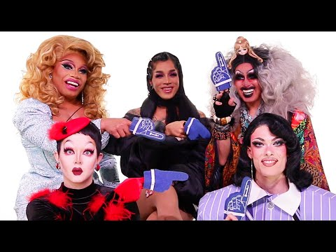 """The Queens Of Season 12 of """"RuPaul's Drag Race"""" Play Who's Who"""