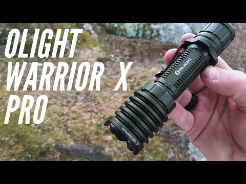 Olight Warrior X Pro Flashlight: More Lumens, Larger Battery Than the Warrior X