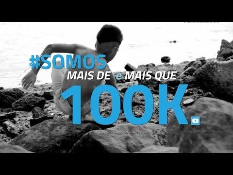 Chegamos a 100 mil inscritos no canal, obrigadx! | #Diario100k