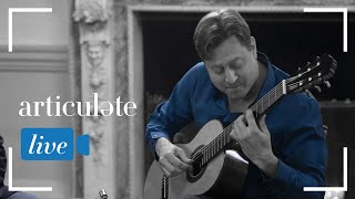 "Articulate with Jim Cotter: Jason Vieaux performs ""In a Sentimental Mood"""
