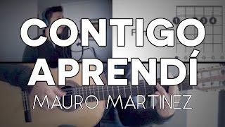 Contigo Aprendí Armando Manzanero Tutorial Cover - Guitarra [Mauro Martinez]