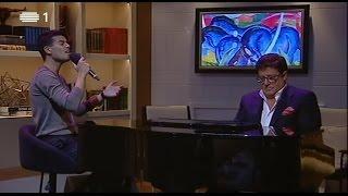 """FF canta """"Todo o Tempo do Mundo"""" com Herman José ao piano - Cá por Casa"""