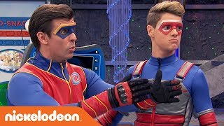 Does Captain Man Know How to Spell? 🔤 | Henry Danger | Nick