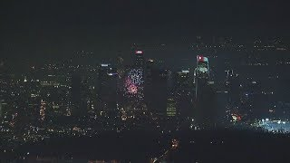 VIDEO: AIR7 HD captures dozens of illegal fireworks shows lighting up SoCal skies | ABC7