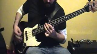 Lamb Of God - Redneck (Bass Cover) - Groove Metal/NWOAHM Bass Lesson