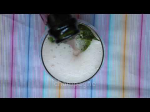 Strawberry Basil Champagne Recipe