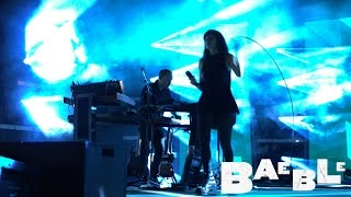 """Chvrches performs """"Clearest Blue"""" from Central Park Summerstage"""