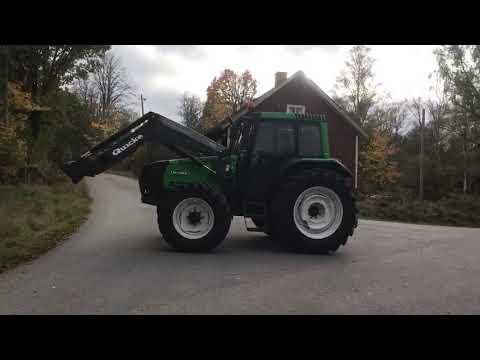 Traktor med lastare Valtra 6350
