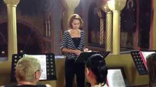 Corul CATEDRALA - Final al Sfintei Liturghii - Biserica Sfânta Maria 16.08.2015