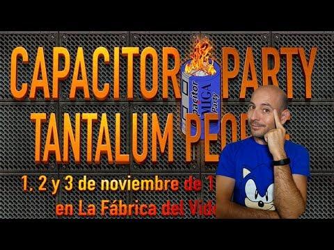 CAPACITOR PARTY VISITA Y ENTREVISTAS ARROW PAD AMIGASTORE X68000
