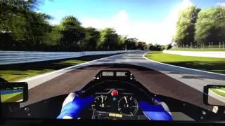 Tributo a Senna, Lotus 97T sin ayudas, BrandsHatch