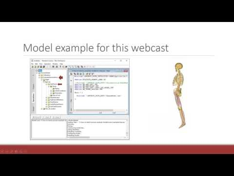[Webcast] - How to batch process your AnyBody models