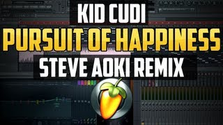 Fl Studio - Pursuit Of Happiness Steve Aoki Remix (Remake) Flp Download