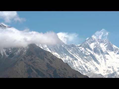 SANY0988.MP4 AAA NEWS  Hotel Everest View Vol.7 ホテルエベレストビューからの眺め