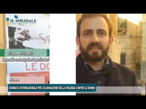 Video: MINEO, GIORNATA INTERNAZIONALE PER L'ELIMINAZIONE DELLA VIOLENZA CONTRO LE DONNE