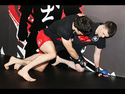 MMA - How to Defend Takedowns against the Cage Wall with Peter Irving