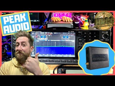 Peak Ham Radio Audio Output Settings Using a Software Defined Radio
