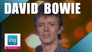 """David Bowie """"Heroes"""" (live french tv) 