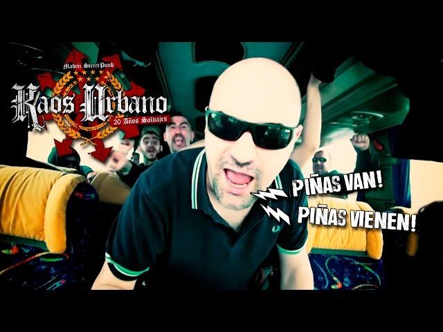 """Videoclip oficial de la canción """"Piñas Van"""" de Kaos Urbano."""