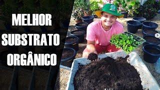 COMO FAZER SUBSTRATO PARA PLANTAS!!