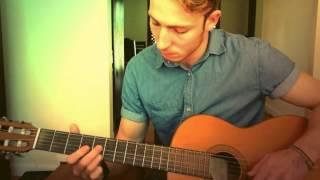 Habits - Hippie Sabotage Remix - Acoustic Guitar Fingerstyle Cover