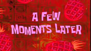 A FEW MOMENTS LATER - (SpongeBob Sound Effect) Free Download!