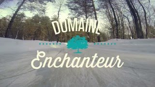 En Vadrouille ... au Domaine Enchanteur - Journée patinage et rencontres en forêt
