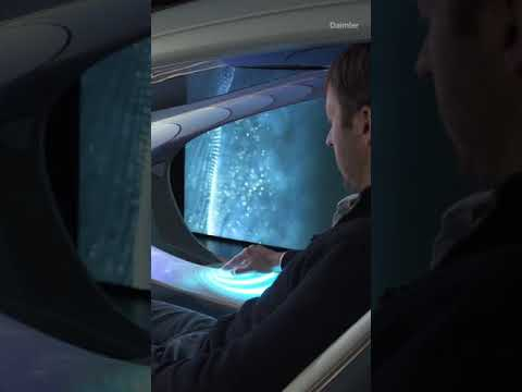 Inside The MercedesBenz AVTR Concept Car