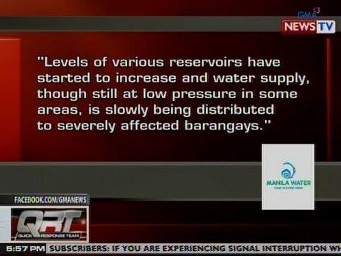QRT: Pahayag ng Manila Water