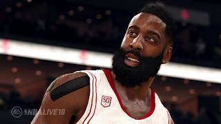 NBA LIVE 18 FIRST OFFICIAL GAMEPLAY! NBA LIVE IS BACK?! Live 18 First Trailer!