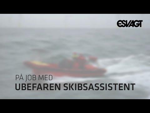 På job med ubefaren skibsassistent