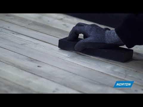 Norton Essential Sanding Sponge for Hand Sanding Wood & Chipboard