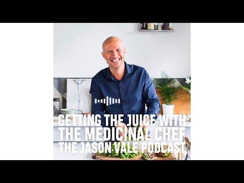 SEASON 1  #5  The Jason Vale Podcast: The Medicinal Chef, Dale Pinnock