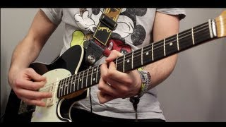 'I FEEL GOOD' - by James Brown - Full Instrumental Cover -  With GUITAR SOLO!  (Karl Golden)
