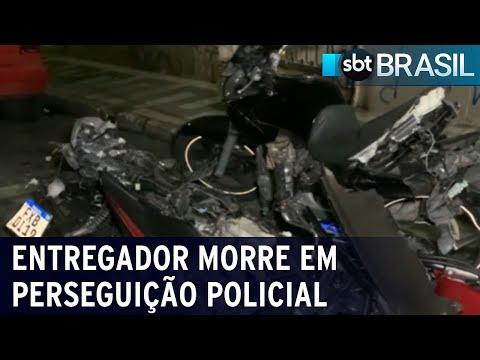 Perseguição policial termina com morte de inocente na grande SP | SBT Brasil (17/07/21)